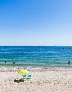 Saint Colomban beach in Carnac